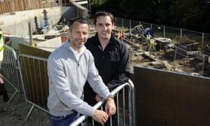 Ryan Giggs and Gary Neville