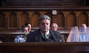Time for some answers ... Robbie Coltrane as Paul Finchley in National Treasure.