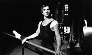Rudolf Nureyev during rehearsals for Romeo and Juliet at the London Coliseum in 1980