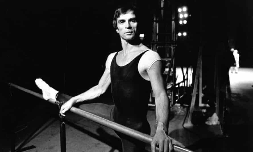 Rudolf Nureyev during a rehearsal of Romeo and Juliet at the London Coliseum in 1980.