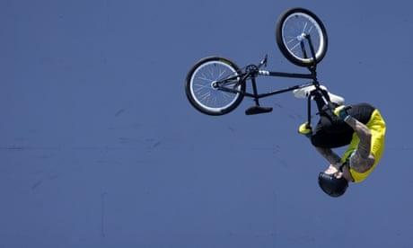 Australia's Logan Martin flies to first men's Olympic BMX freestyle gold