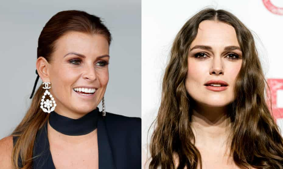 Coleen Rooney and Keira Knightley.