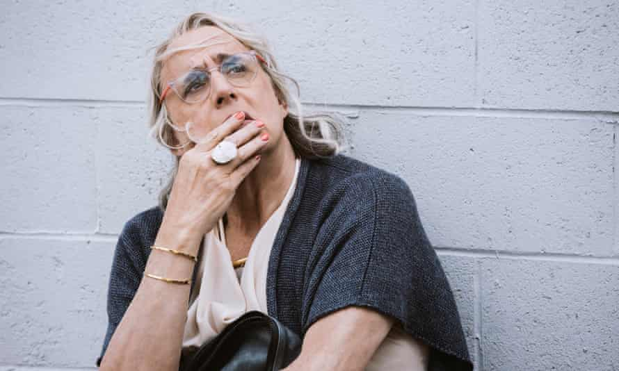 I guzzled the whole lot in a two-session binge, because I simply couldn't stop … Jeffrey Tambor as Maura Pfefferman in Transparent.