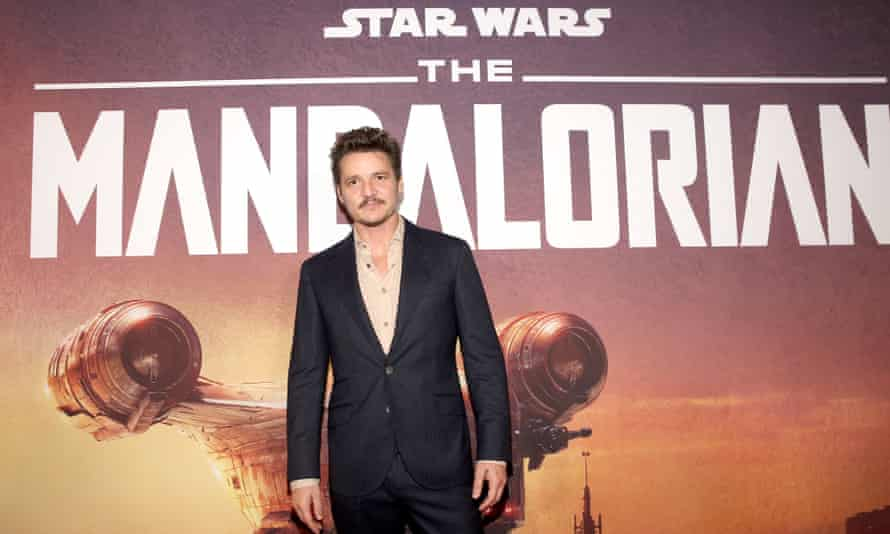 Pedro Pascal at the premiere of The Mandalorian