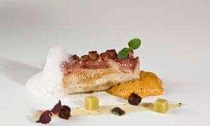 Dish from Casa Garras, Carranza, Basque country