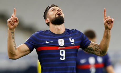 Olivier Giroud ready to leave Chelsea with Euro finals in mind