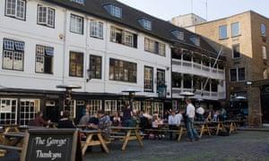 The George Inn just off Borough High Street London.