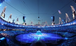 The Paralympic opening ceremony at London 2012.