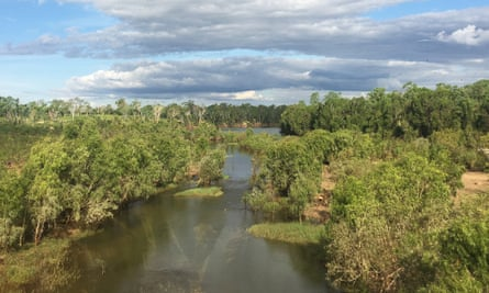 The McArthur River in Borroloola in the Northern Territory.