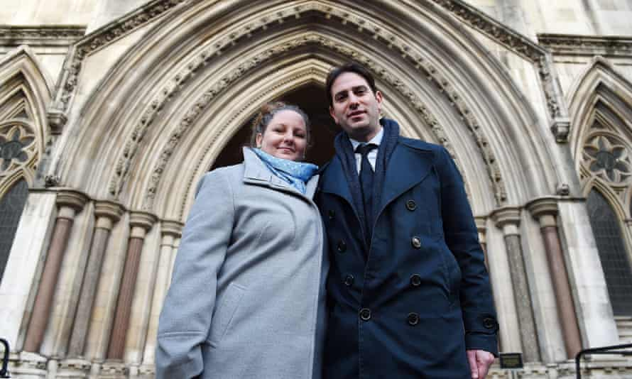 Rebecca Steinfeld and Charles Keidan 'should be applauded by all defenders of equality'  for taking the government to the high court over their refusal to allow heterosexual couples to have a civil partnership