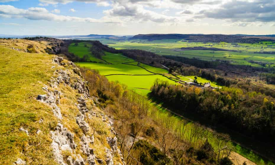Scout Scar and over the Lyth Valley