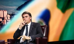 Jair Bolsonaro is currently polling second after Lula.