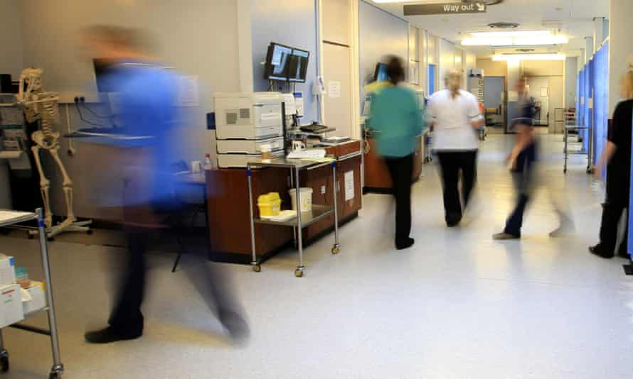 A UK hospital ward