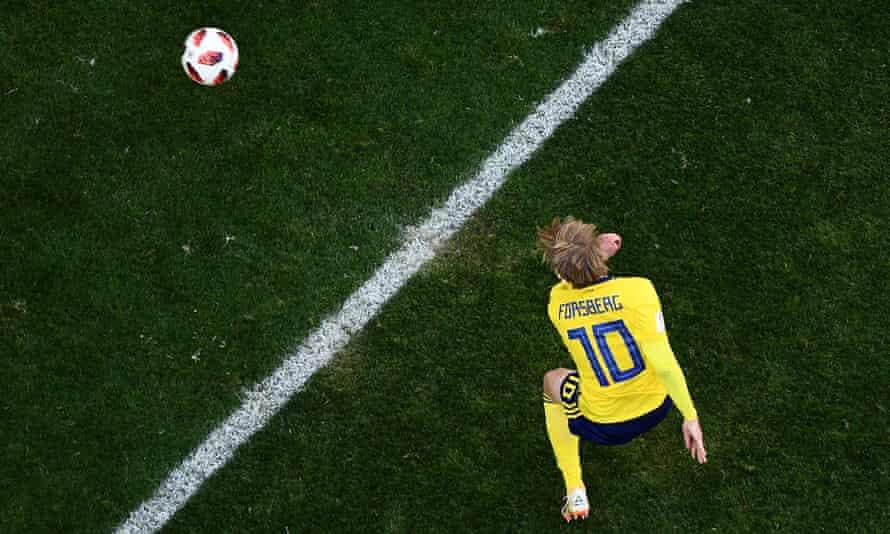 If Sweden do score against England, expect Emil Forsberg to be involved