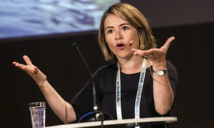 Catarina de Albuquerque delivers a vision speech at World Water Week in Stockholm in 2015.