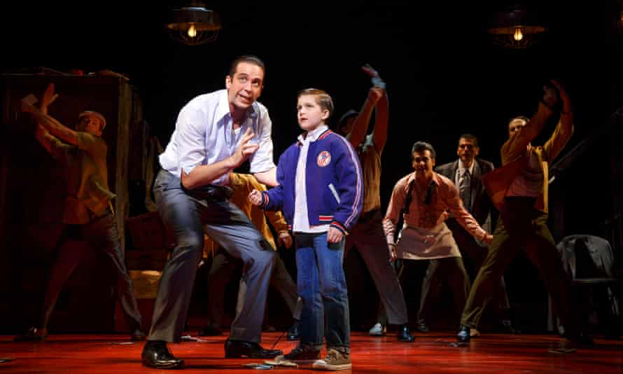 A Bronx Tale: the Musical: a dash of Jersey Boys and a smidge of West Side Story.
