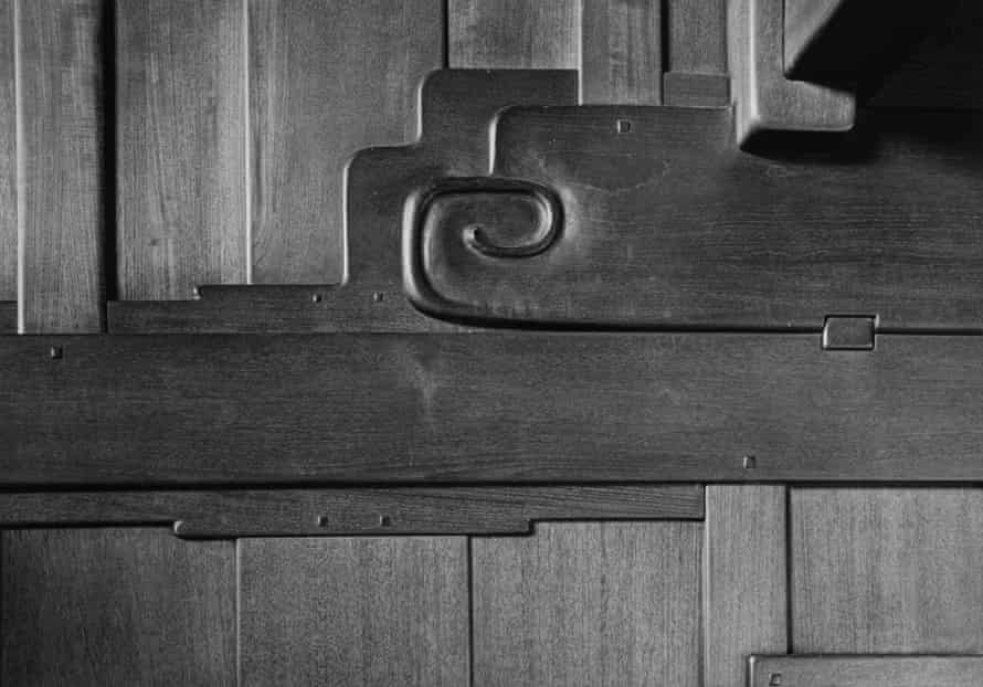 Yasuhiro Ishimoto, Robert R Blacker house, front entry detail
