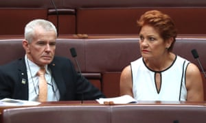 Malcolm Roberts and Pauline Hanson confirmed One Nation would no longer support jobmaker safeguards
