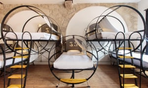 Dorm beds at The House of Sandeman Hostel and Suites, Porto, Portugal