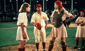 Lori Petty, Tom Hanks and Geena Davis in A League of their Own (1992)