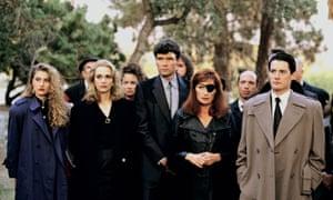 The original cast of Twin Peaks