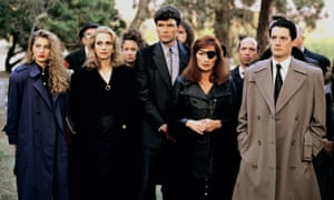 The cast of Twin Peaks.