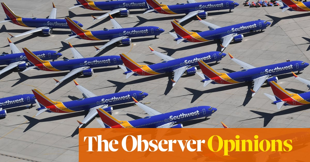 The Boeing scandal is an indictment of Trump's corporate