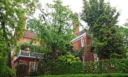 Williams' Kensington home.