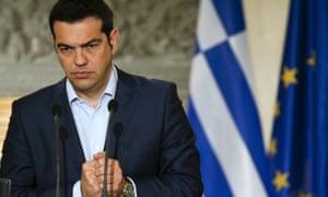 Alexis Tsipras in Athens