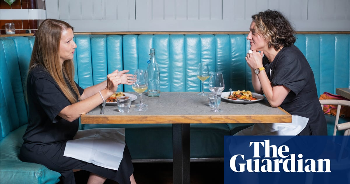 Dining across the divide: 'She didn't call me an insensitive buffoon – but I was armed and ready'