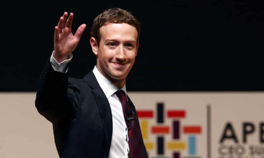 Facebook founder Mark Zuckerberg: still only 32 years of age.