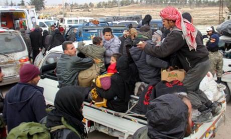 Syria negotiators race to salvage Aleppo evacuation deal