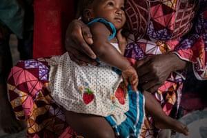 Rufa Atu's youngest daughter, one-year-old Ralia