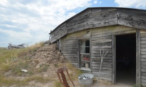 Preserved pioneer family's homestead dwelling between the Badlands and Rapid City.