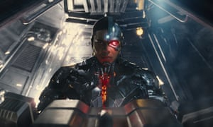 Ray Fisher as Cyborg in Joss Whedon's Justice League.""