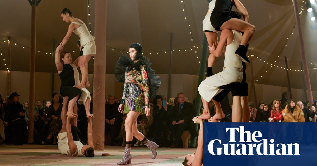 Christian Dior In Paris: Big-top Showcase Of Technique And Daring