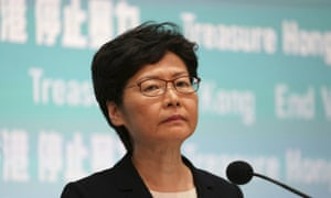 Carrie Lam: 'We would not rule out any measures that we can reasonably implement under the current law.'