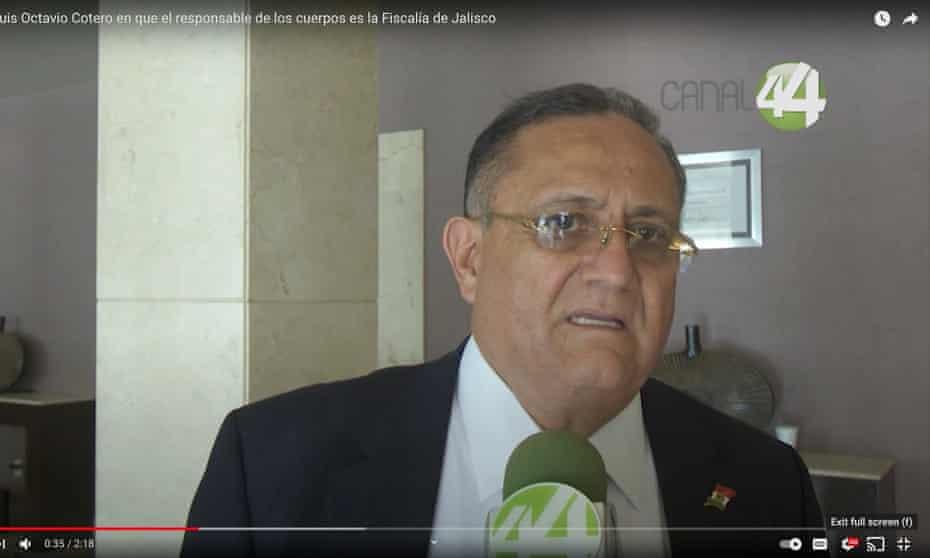 Luis Octavio Cotero, former director of Jalisco's forensic institute