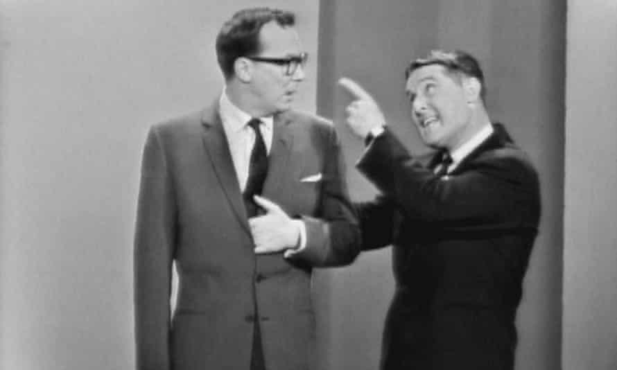 Eric and Ernie on The Ed Sullivan Show in March 1963