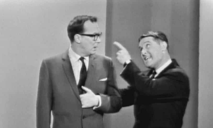 Morecambe and Wise in America: Eric and Ernie on The Ed Sullivan Show in March 1963.