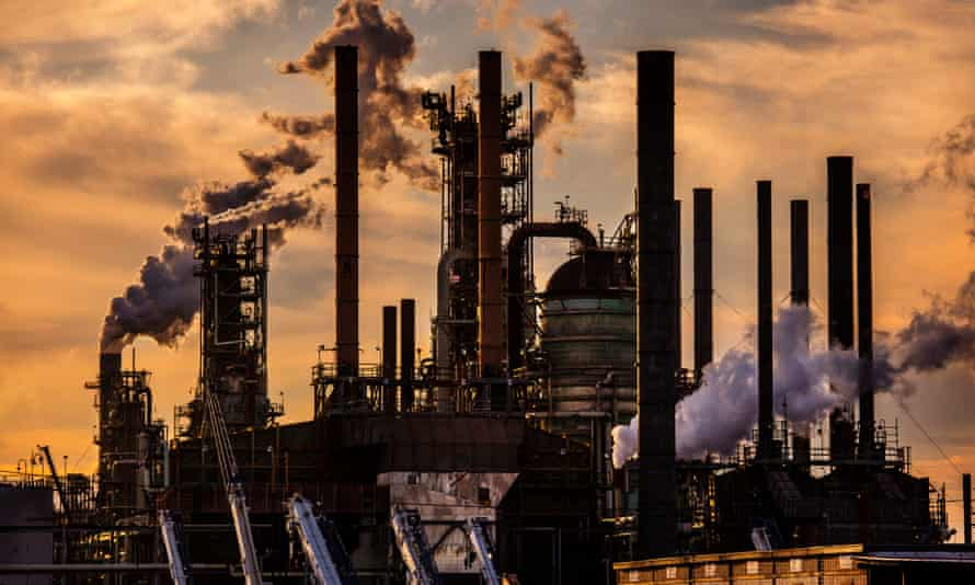 ExxonMobil oil refinery in Baton Rouge