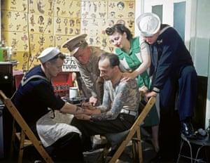 Tattoo Artist Tattoos Sailors