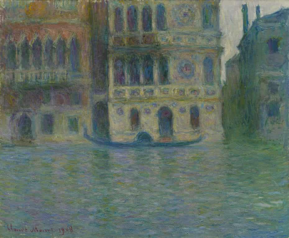 Venice, Palazzo Dario, 1908 by Claude Monet.