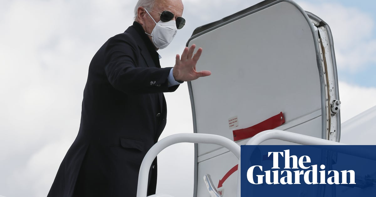 Trump 14 points behind Biden a month before election new poll shows – The Guardian