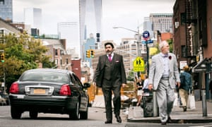 A stealth argument for marriage equality … Alfred Molina and John Lithgow in Love Is Strange.