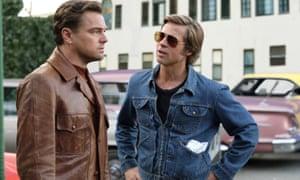 Leonardo DiCaprio and Brad Pitt