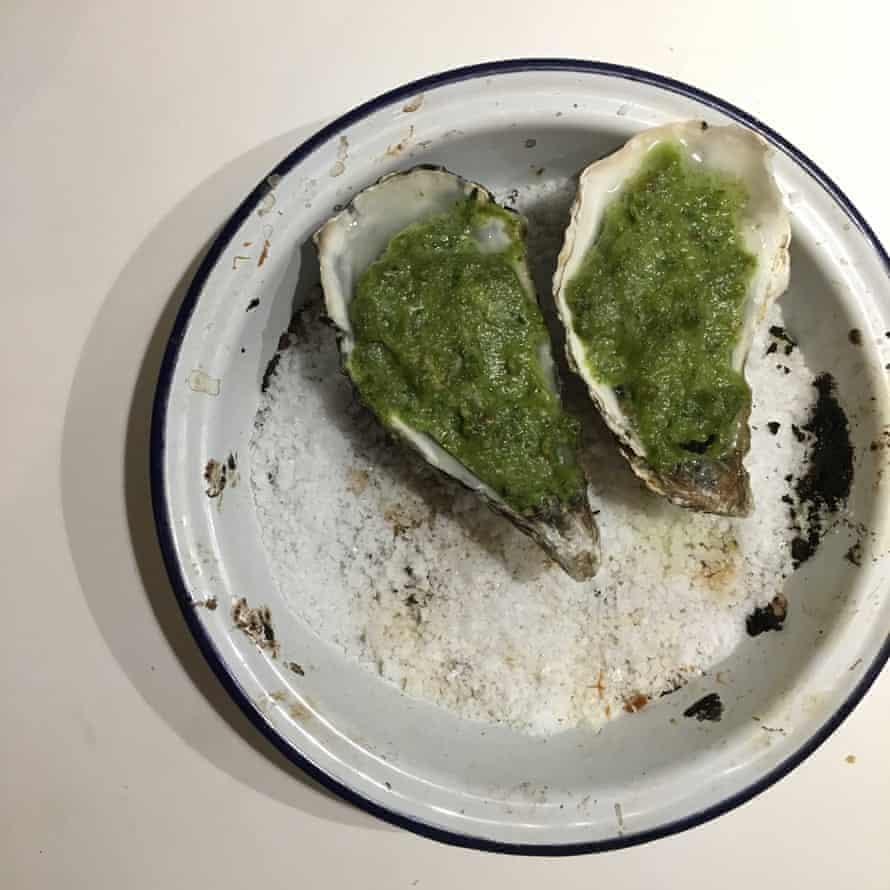 Jane Eddington's Oysters Rockefeller.
