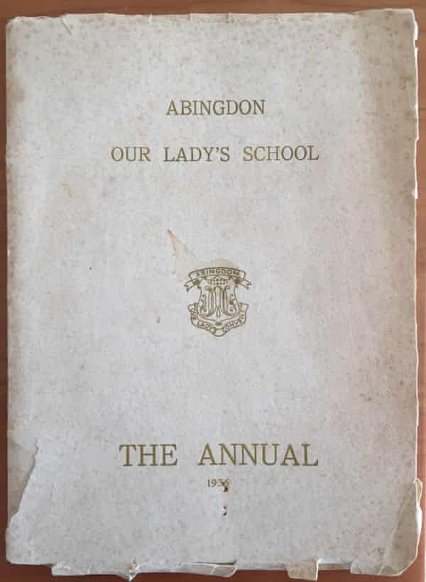 The 1936 annual of Our Lady's School in Abingdon, Oxfordshire, which contains two newly discovered poems by JRR Tolkien