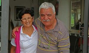 Chef Rosi and husband Angelo.