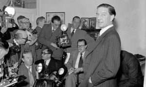 1955 photograph of Kim Philby, who died in 1988 in his adopted Soviet homeland.